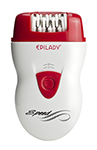 Epilady - Speed Epilator - White/Red EP-810-44